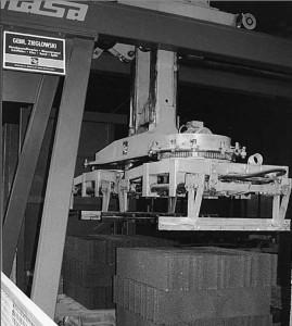 MASA-Umsetzgerät im Einsatz bei der Fa. Zieglowski